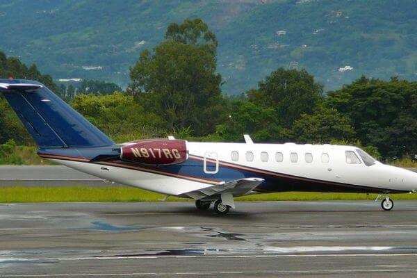 CITATION CJ3 sn10