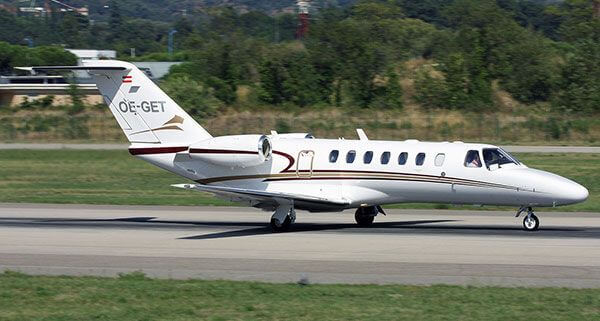 CITATION CJ3 sn525B-0277